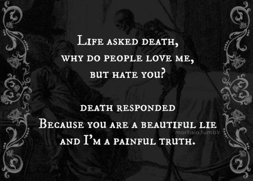 viata a intrebat moartea